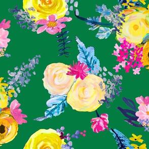 Fleurs d'été // Kelly Green