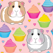 guinea-pigs-hearts and cupcakes