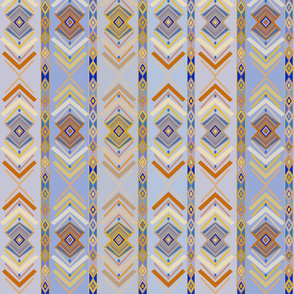 Southwest Tribal Folk Art Feathers