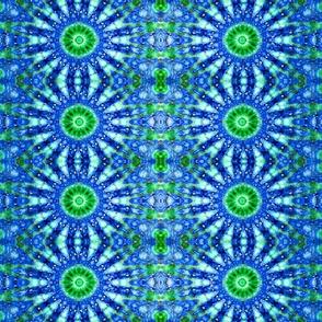 Cool Blue Daisy Chain