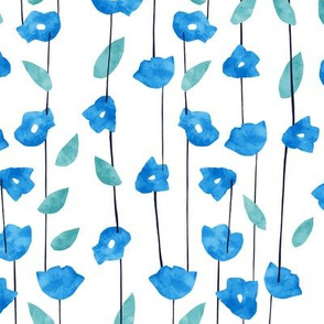 Tiny Blue Flora