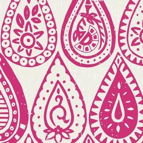 Indian raindrops pink
