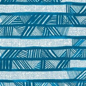 Afrikanis Horizontal Stripe