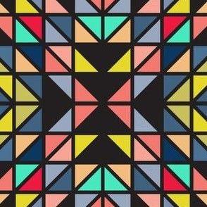 quart triangle noir more colpors