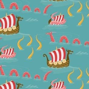 Vikings at sea