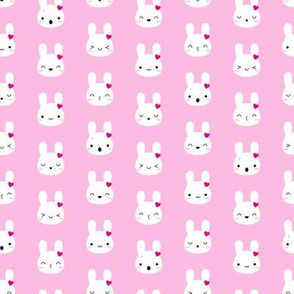 Kawaii Bunny Emotions (Pink)