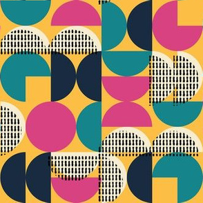 Midcentury Retro Yellow