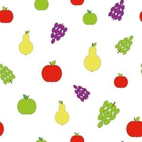 Happy fruit pattern