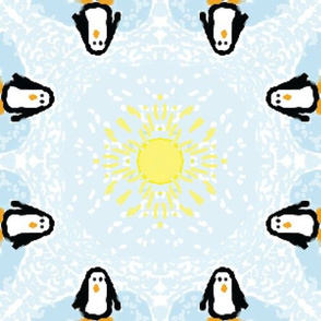 Penguins play