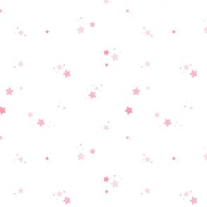 Fireflies Stars Pink BIG