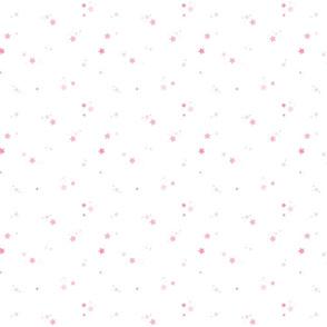 Fireflies Stars Pink SMALL