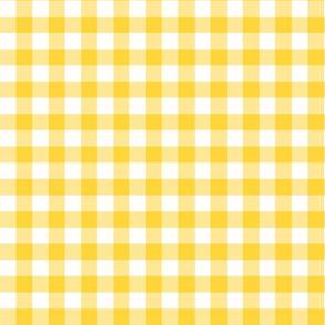 "9"" Yellow Gingham"