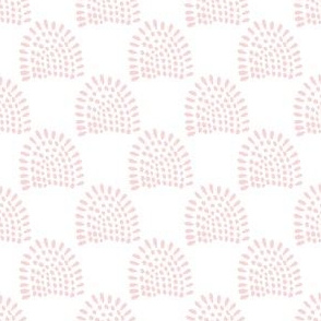 "4"" Boho Sunrise - Blush Pink"