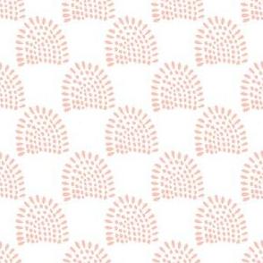 """4"""" Boho Sunrise - Peach"""