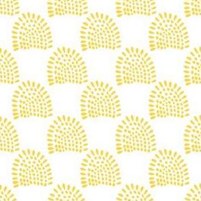"""4"""" Boho Sunrise - Yellow"""