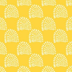 """4"""" Boho Sunrise - Yellow Back"""