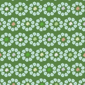 spring flower circles