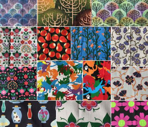 Scandinavian Floral Series J