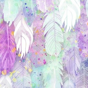 Pastel Dream Feathers