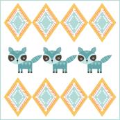 Woodland Raccoon Diamond