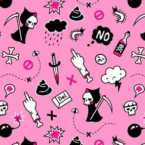 depression pink
