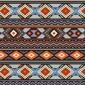 Ethnic blue