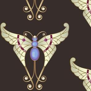 Bejeweled Butterfly: Espresso