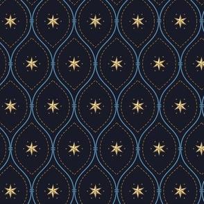 heraldic stars