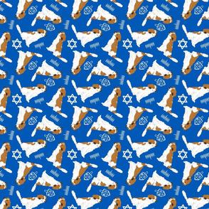 Tiny Kooikerhondje - Hanukkah