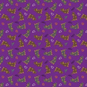 Tiny Lancashire Heelers - Halloween