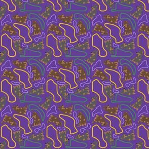 Tiny Lancashire Heelers - Mardi Gras