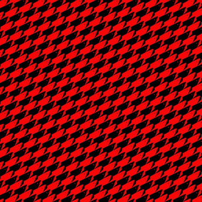 Baby Sharkstooth Sharks Pattern Repeat in Black and Red