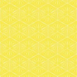 sunny geometric pattern