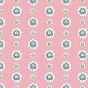 Daisy Chain_PinkGreyOrange by Paducaru