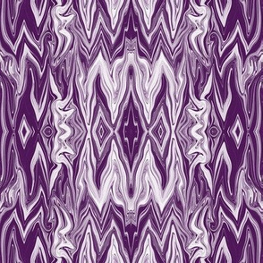 DGD22 - XL - Rococo Digital Dalliance Lace in Rustic  Lavender and Purple