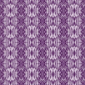 DGD22 - Small - Rococo Digital Dalliance Lace in Rustic Lavender and Purple with Hidden Gargoyles