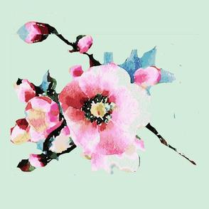 Kath Lenten Rose- Green 2-ch