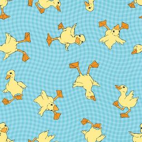 Duckling Splash by ArtfulFreddy