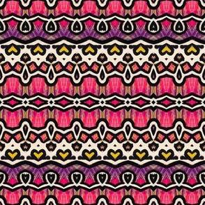 Pretty in Pink Folk Design