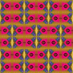 pink spiders_ blue triangle 4