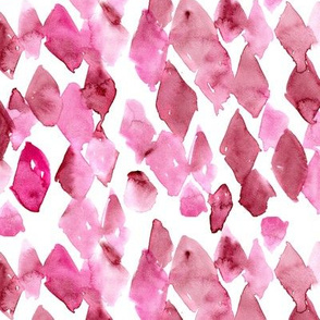 Raspberry vibes • watercolor abstract pattern
