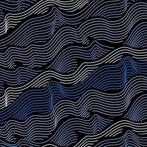 waves - dark