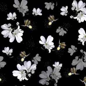 Night Shift–Firefly Pollinators  |  Black