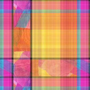 Cooper's Abstract Mishmash Fancy Plaid