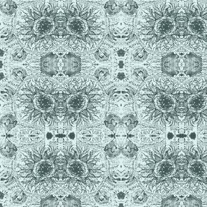 round lace greencyan