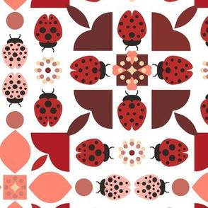 Scandinavian Style Ladybugs