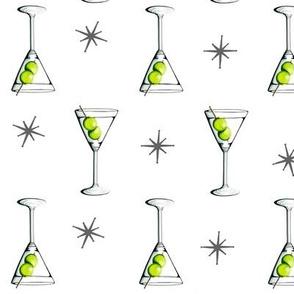 Tennis Martini Pattern