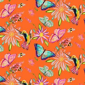 Spring Pollinators // Orange