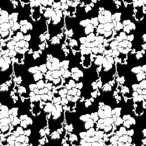 Floral Desire Black & White