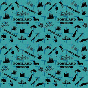 Portland Icons on PDX Carpet_small scale